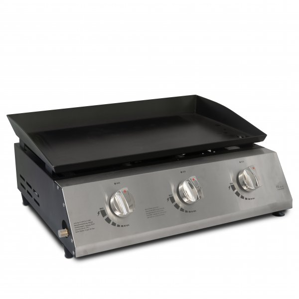 ACTIVA Plancha 3 Brenner je 2,1 KW (6,3 KW) Grill Gasgrill