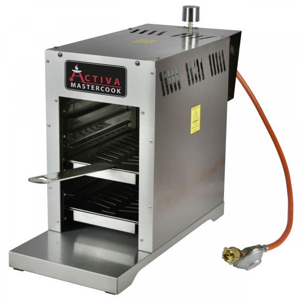 ACTIVA Grill Gasgrill Steak Machine Basic 800°C Oberhitzegrill Steakgrill