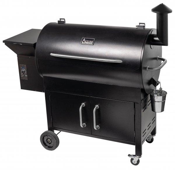 ACTIVA Grill Pelletsmoker EL Salvador XXL Grillwagen Pellet Smoker BBQ Barbeque