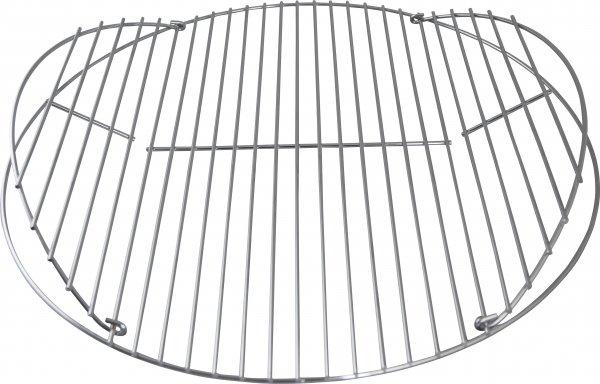 ACTIVA Runder Grillrost Massiver Grill Rost Verchromt Durchmesser ∅ 55 cm