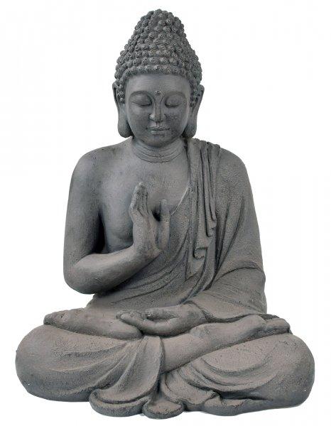ACTIVA Buddha Figur Padma, 57 cm hoch, Gartendeko