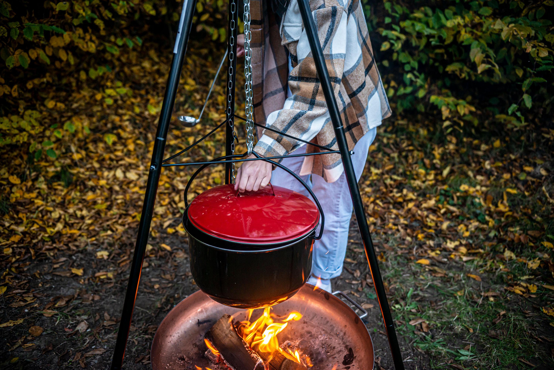 Activa Topf Fur Schwenkgrill Feuerstelle Kochtopf Feuerkessel Gulaschkessel Standgrill Grillen Hm Heisse Metallwaren Grillwagen Terrassenheizer Gasgrills