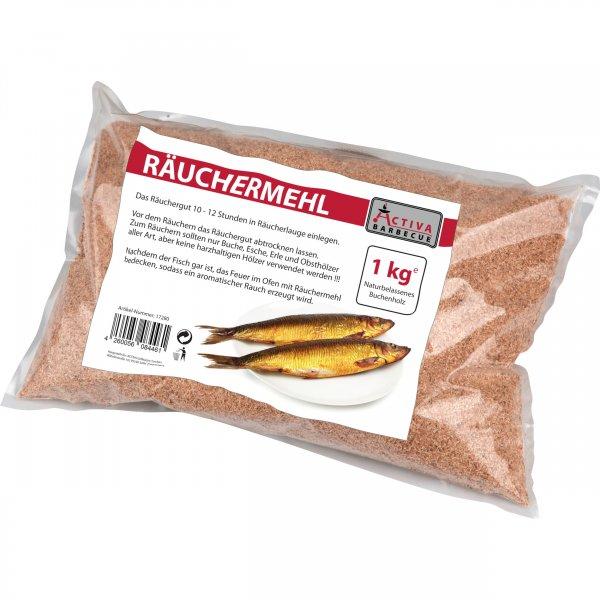 ACTIVA Grill Räucher-Mehl, Buchenmehl, Räucherspäne, Räuchern & Smoken