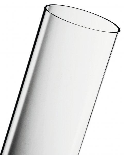 ACTIVA Glasröhre 67 x 9,4 cm, Pyramide Pelletfackel Pellet Fackel Ersatzröhre Yellow Stone Flammenhe