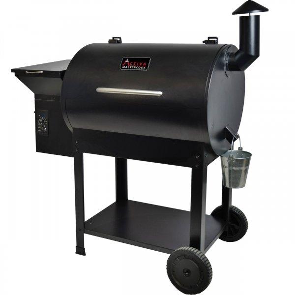 ACTIVA Grill Pelletsmoker El Paso XL Grillwagen Smoker BBQ Barbeque inkl. 10 KG Pellets