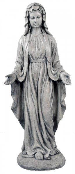 ACTIVA Gartenfigur Jungfrau Maria, Gartendeko Dekofigur, 76 cm hoch