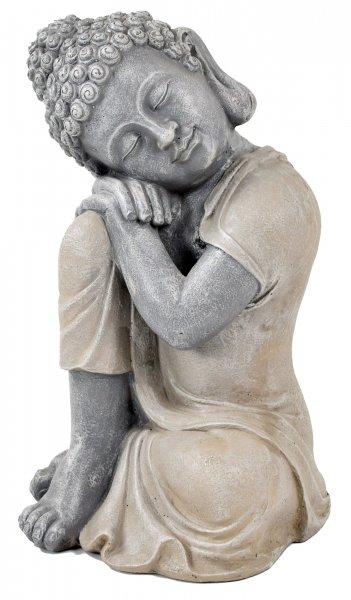 ACTIVA Buddha Figur, träumender Buddha, 40 cm hoch, Gartendeko
