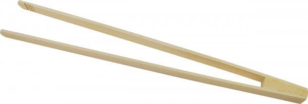 ACTIVA Grillzange aus Holz 44 cm