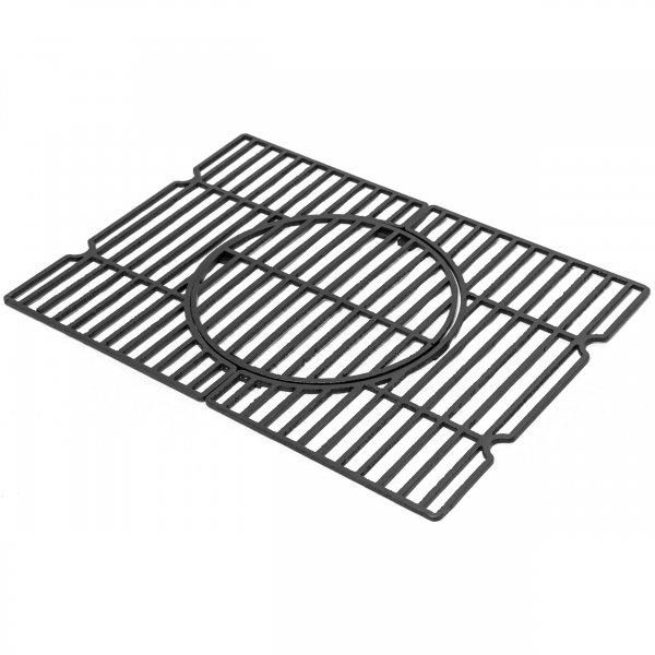 ACTIVA Gusseisen Rost Grillrost Guss-Rost für Angular R-E-S 56,8 x 41,5 cm, passend für Holzkohlegri